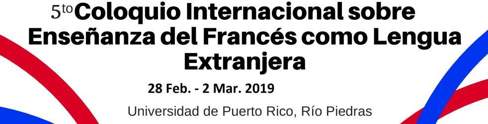 FLE 2019 - 5e Colloque international sur l'enseignement du français langue étrangère