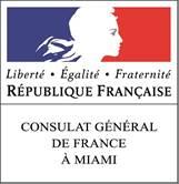 logo consulat France Miami