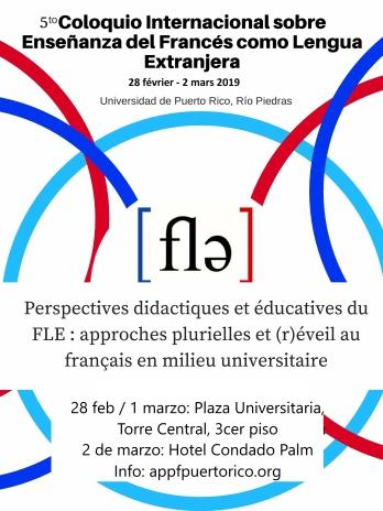 Poster Colloque FLE 2019